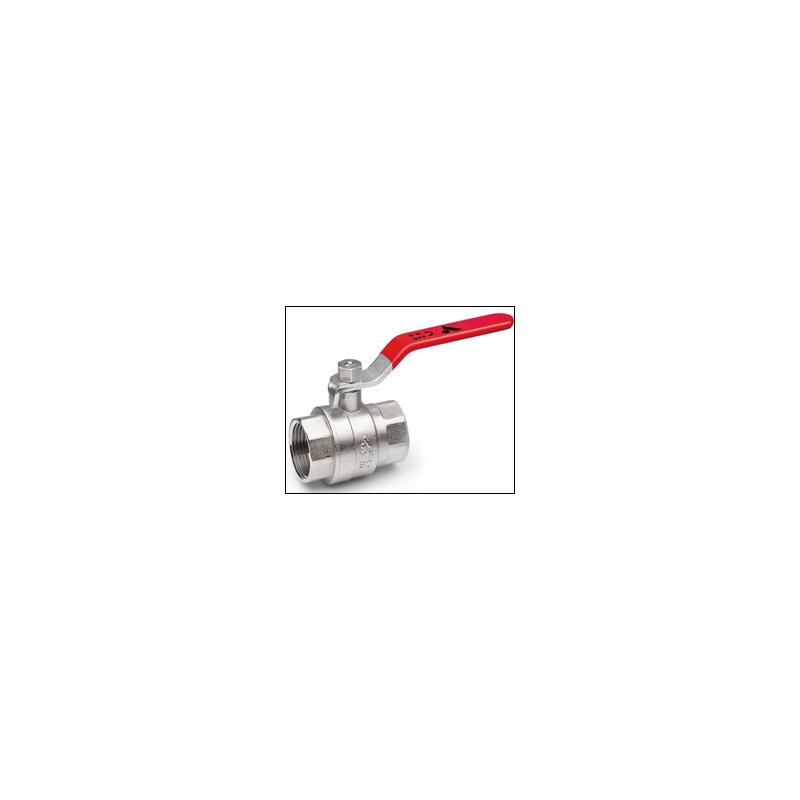 Vanne chauffage PN30 passage intégral ACS FF
