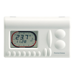 Thermostat éléctronique programmable à piles