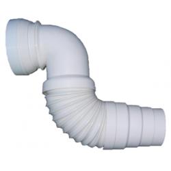 Pipe de WC extensible